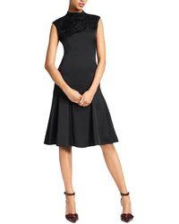 Brooks Brothers A-line Dress - Black