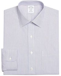 Brooks Brothers Regent Fitted Dress Shirt - Red