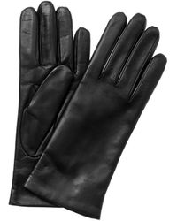 Portolano Leather Gloves - Black