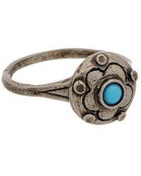 Valentino Brass Ring - Metallic