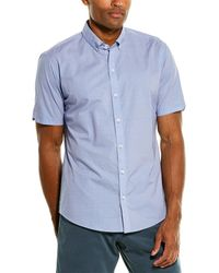 Zachary Prell Parker Woven Shirt - Blue