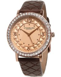 Stuhrling Original Stuhrling Women's Vogue Watch - Metallic