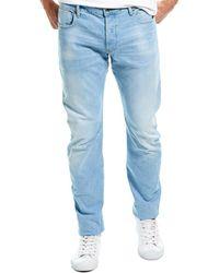 G-Star RAW Raw Arc Sun Faded Crystal Blue Slim Leg