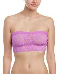 Hanky Panky Signature Lace Bandeau - Purple