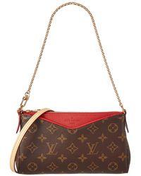 Louis Vuitton Cherry Monogram Canvas Pallas Clutch - Multicolour