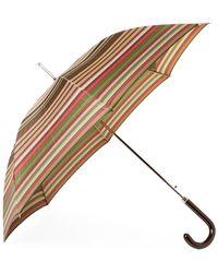Missoni Enzo Striped Umbrella - Brown