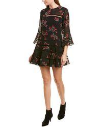 Bardot Poppy Mini Dress - Black