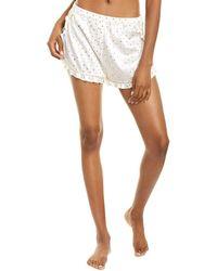 Morgan Lane Esti Silk-blend Short - White