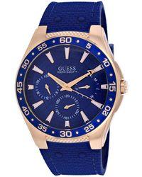 Guess Men's Atlantic Watch - Blue