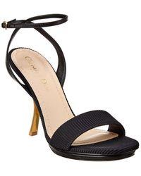 Dior D-sculpture Sandal - Black