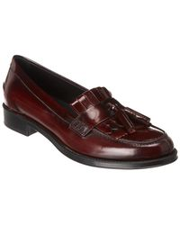 Tod's Leather Loafer - Red