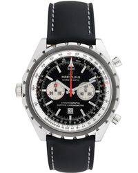 Breitling - Vintage Breitling Navitimer Chronomatic Stainless Steel Watch, 44mm - Lyst