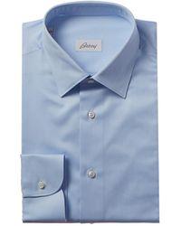 Brioni Dress Shirt - Blue