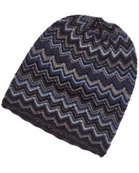 Forte - Zig Zag Cashmere Pull On Hat - Lyst