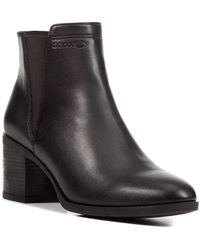 Geox Asheel Ankle Boot - Black