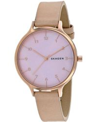 Skagen Women's Anita Watch - Purple