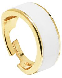 Gabi Rielle - Gold Over Silver Ring - Lyst