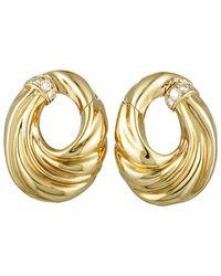 Heritage Van Cleef & Arpels - Van Cleef & Arpels 18k 0.39 Ct. Tw. Diamond Earrings - Lyst