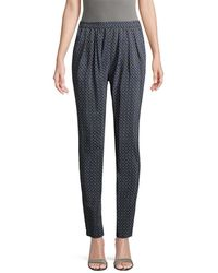 Stella McCartney Pleated Front Pant - Blue