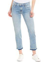 Hudson Jeans Nico Breakthrough Midrise Cigarette Leg - Black