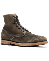 Frye Bowery Leather Boot - Brown