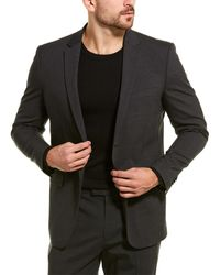 Theory Xylo Wool-blend Sport Coat - Grey