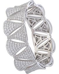 BVLGARI - Diva's Dream 18k 16.90 Ct. Tw. Diamond Bracelet - Lyst