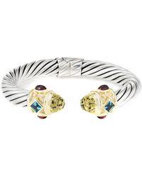 David Yurman - David Yurman Renaissance 14k & Silver 11.20 Ct. Tw. Gemstone Bracelet - Lyst