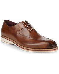 Mezlan Lehman Leather Derbys - Brown
