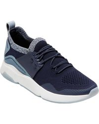 Cole Haan Zerogrand All Day Knit Trainer - Blue