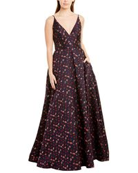 ML Monique Lhuillier Gown - Multicolor