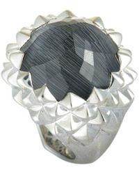 Stephen Webster Silver 21.45 Ct. Tw. Gemstone Ring - Metallic