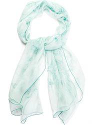 Hermès Equestrian Sketch Silk Scarf - Blue