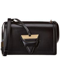 Loewe Barcelona Leather Shoulder Bag - Black
