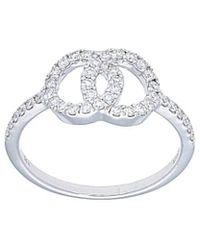 Nephora 14k 0.34 Ct. Tw. Diamond Ring - Metallic