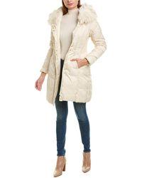 Via Spiga Smocked Waist Coat - White