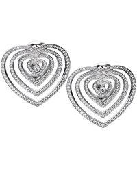 Chopard - 18k 2.51 Ct. Tw. Diamond Earrings - Lyst