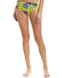 Diane von Furstenberg High-waist Cheeky Bottom - Yellow