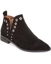 Corso Como - Diana Leather Bootie - Lyst