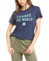Sub_Urban Riot Sub_urban Riot Change The World T-shirt - Blue