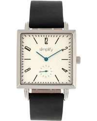 Simplify Unisex The 5000 Watch - Metallic