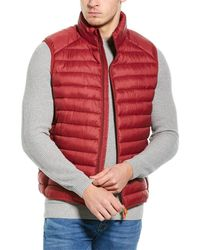 Save The Duck Basic Packable Vest - Red
