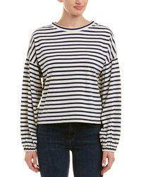 Parker Dropped-shoulder Sweatshirt - White