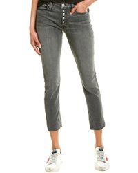 Hudson Jeans Nico Downtown Skinny Leg - Black