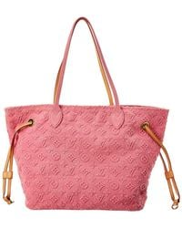 Louis Vuitton Limited Edition Pink Stone Monogram Canvas Neverfull Mm