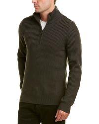 Vince - Mock Neck Wool Pullover - Lyst