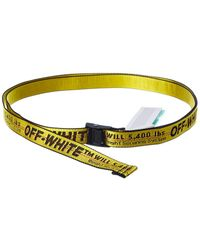 Off-White c/o Virgil Abloh ? Industrial Buckle Belt - Yellow