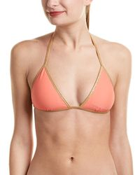 Sam Edelman Reversible Bikini Top - Multicolor