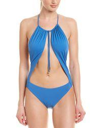 La Perla Non-wired One-piece - Blue