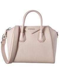 Givenchy Antigona Small Leather Tote - Pink